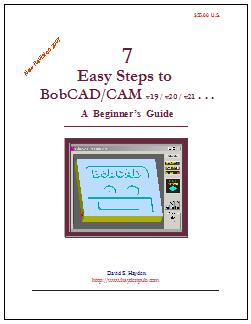 7 Easy Steps to BobCAD/CAM Book Cover